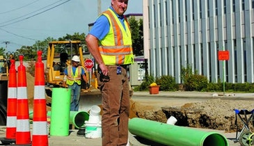 In-House Crew Tackles Sewer Improvement
