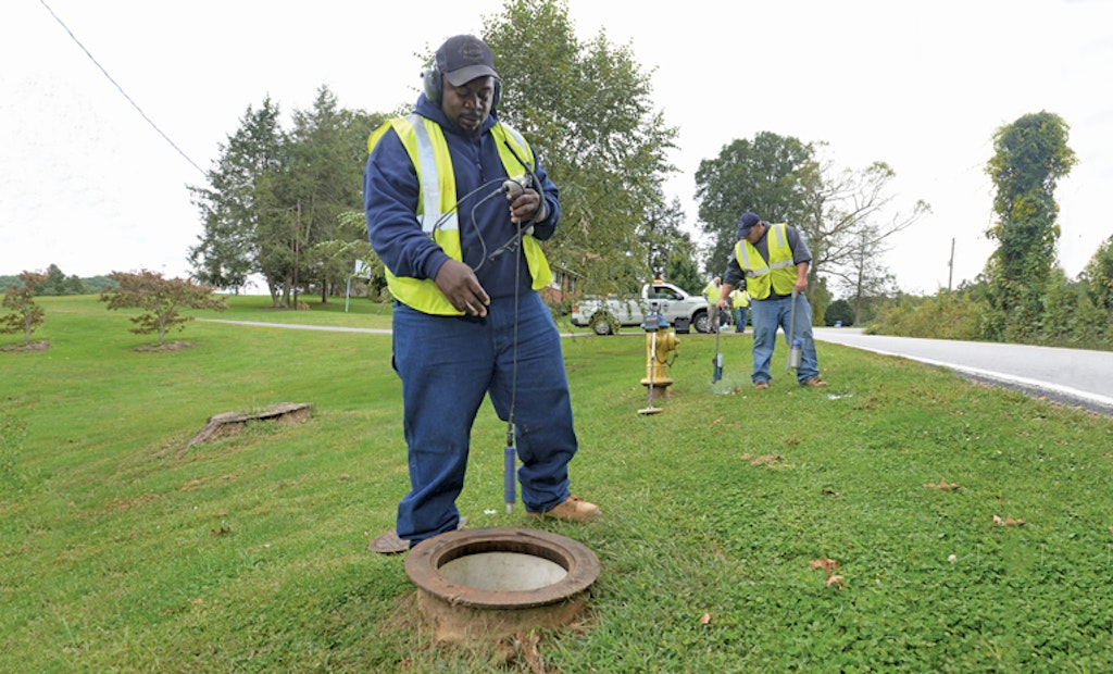 Utility Cuts Water Loss