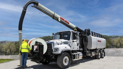 Vacall AllJetVac Combination Sewer Cleaners Deliver Superior Power With Just One Engine