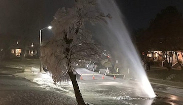 Cold Causes Countrywide Pipe Problems
