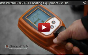 Ditch Witch® - 830R/T Locating Equipment - 2012 Pumper & Cleaner Expo