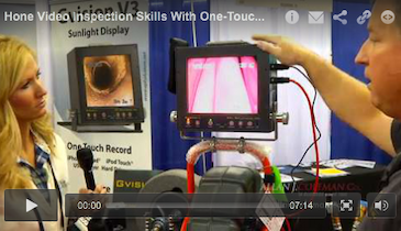 Hone Video Inspection Skills With One-Touch Recording Device