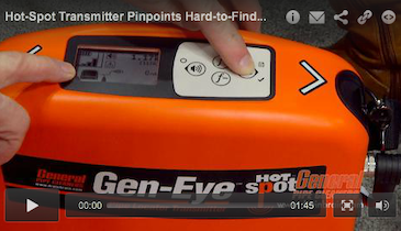 Hot-Spot Transmitter Pinpoints Hard-to-Find Buried Utilities
