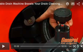 Cable Drain Machine Boosts Your Drain Cleaning Power