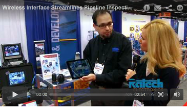Wireless Interface Streamlines Pipeline Inspections
