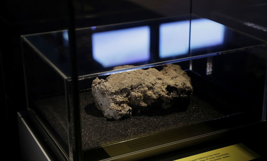 Portion of Massive London Fatberg Becomes Museum Exhibit