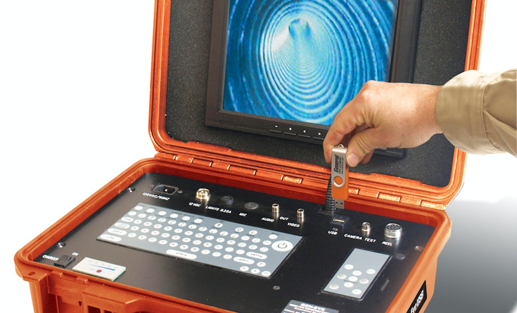 Gen-Eye Inspection Systems Now Offer Flash Drive Recording Capability