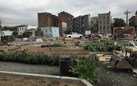 Park Projects Create 1.2 Million Gallons of Stormwater Storage for City