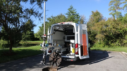 Scan and Inspect Manholes, Lift Stations Pipelines and More with the MIV