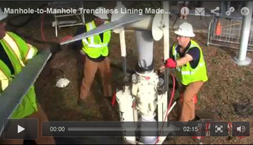Manhole-to-Manhole Trenchless Lining Made Easy