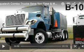 Aquatech Combo Trucks Save You Time & Money