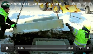 """Lightening the Load"" - Lancaster Pa. Utilities - May 2014 MSW Video Profile"