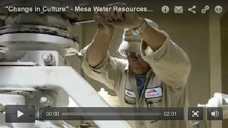 """Change in Culture"" - Mesa Water Resources Dept - July 2014 MSW Profile"