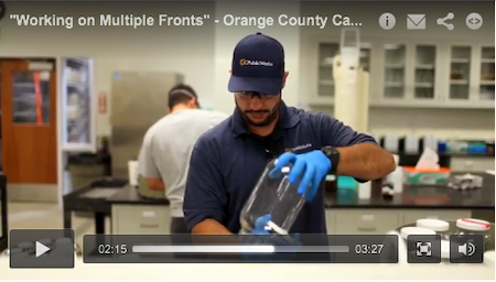"""""""Working on Multiple Fronts"""" - Orange County Ca. - September 2013 MSW Video Profile"""