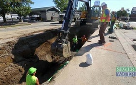 Brick Arch Sewer Upgrade No Small Task