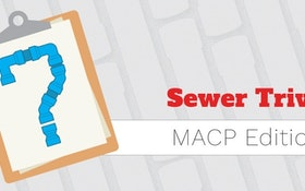 Sewer Trivia: MACP Quiz