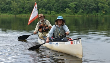 A Couple of Paddlers Traverse Big Rivers to Help Provide Water for Those in Need