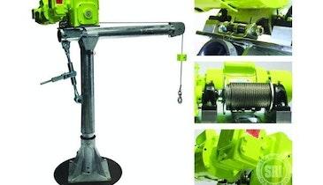Patterson Manufacturing Davit Cranes
