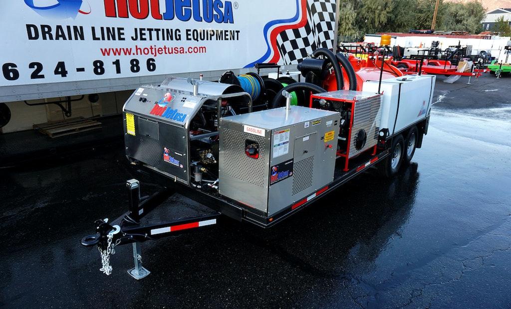 The Powerful Platinum Series HotJet III 4n1 Combo Vac System