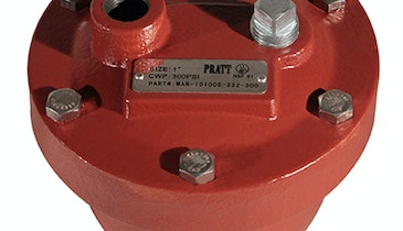 Pratt AirPro Max Water Air Release Valves Now FM Approved