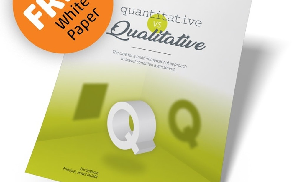 Quantitative Versus Qualitative Analysis in Sewer Inspection