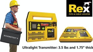 Rex: A New Breed of Multifrequency Pipe and Cable Locator