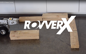 Zero-Degree Turns with the ROVVER X