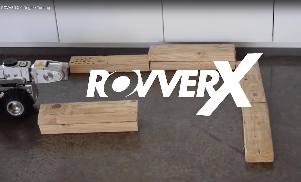 Zero-Degree Turns with the ROVVER X