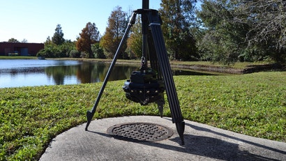 Wireless Manhole Scanning Technology
