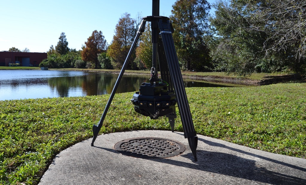 Wireless Manhole Scanning Technology