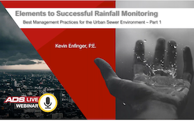 Elements to Successful Rainfall Monitoring – Best Management Practices for the Urban Sewer Environment PART 1