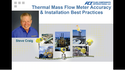 Thermal Mass Flow Meter Accuracy and Installation Best Practices