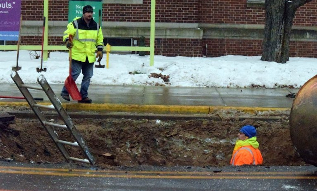 City Deals with Waterline Break on Recently Completed Infrastructure Project