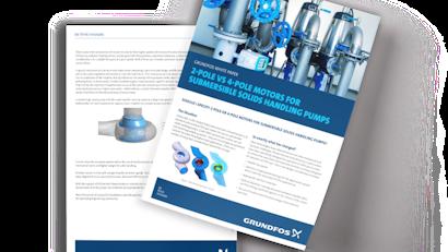 2-Pole vs. 4-Pole Motors for Submersible Solids-Handling Pumps