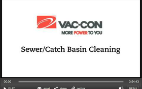 Vac-Con Combo Sewer Truck Tackles Toughest Cleaning Jobs