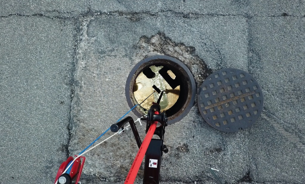 H.A.L.O. Hands-Free Light Changes the Way Sewer Cleaning Operators See Work