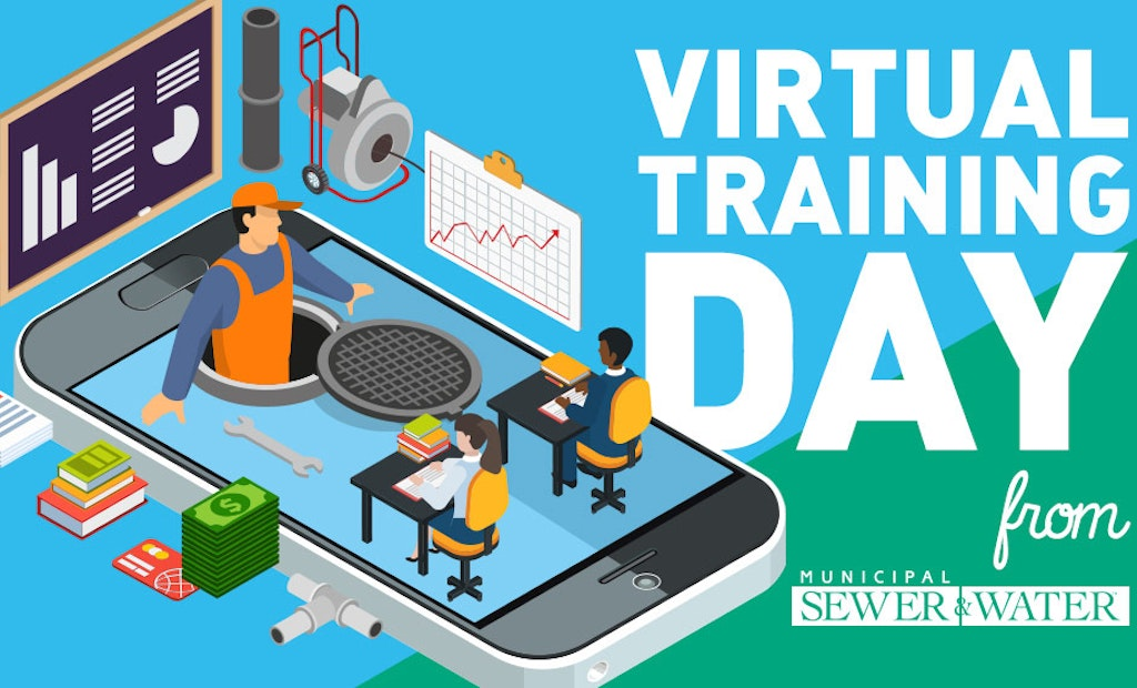 Share Your Industry Knowledge Via Municipal Sewer & Water's Virtual Training Day