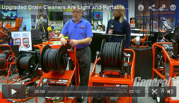 Upgraded Drain Cleaners Are Light and Portable Without Sacrificing Power