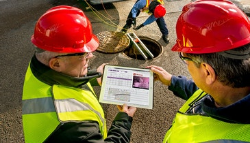 Secure Cloud Hosting Protects Wastewater Inspection Data