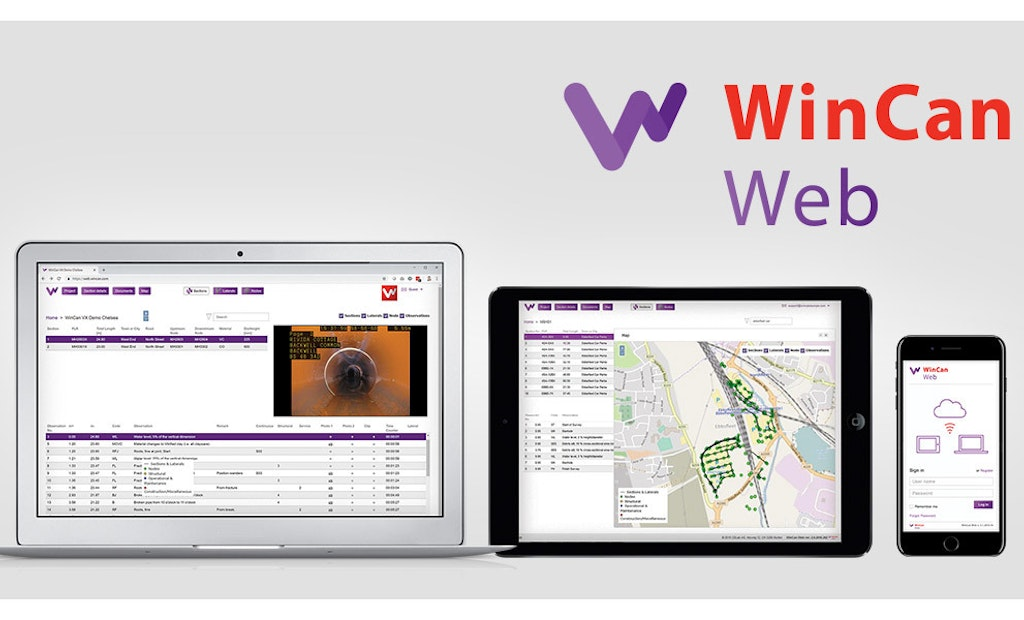 Share Inspection Data Faster with WinCan Web