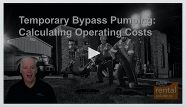 Calculating Pump Operating Costs for Temporary Bypass Pumping