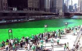 Chicago Municipal Workers Brace For St. Patrick's Day