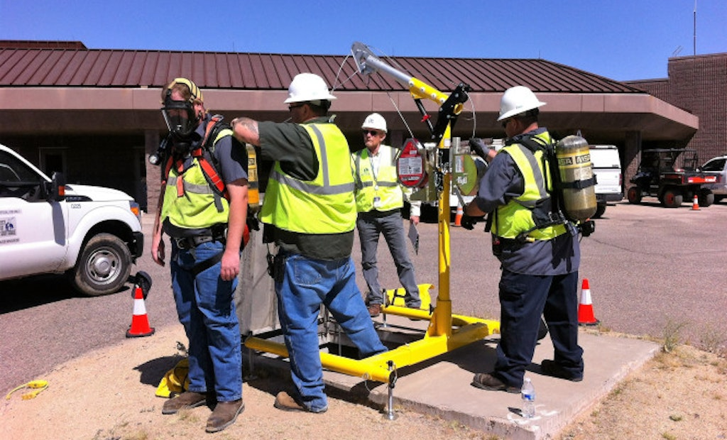Water Professionals Take On Role As First Responders