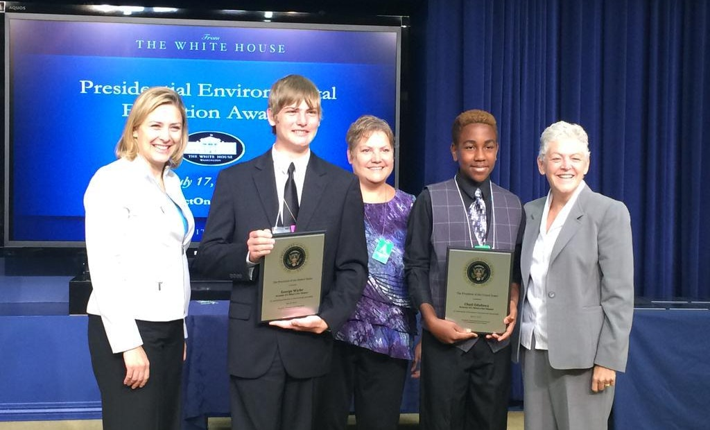 Students Honored for Research on Groundwater Contamination
