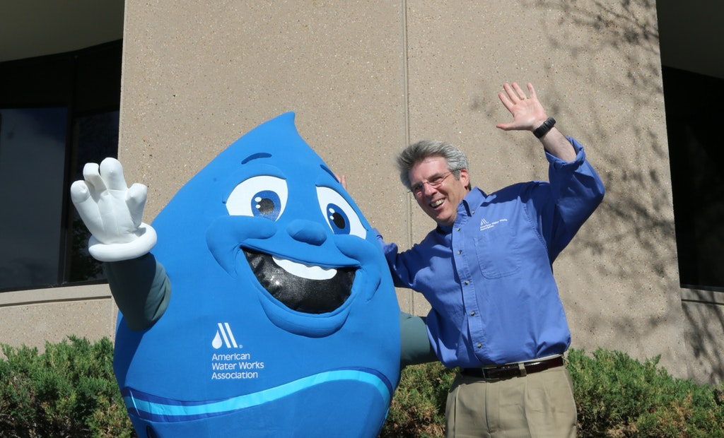 What's Blue, Round and Popular At Water Events?