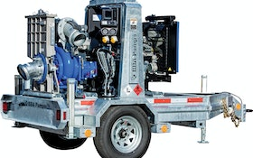 Pumps - BBA Pumps BA150E Trailer Pump Package