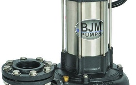 BJM solids-handling submersible pumps