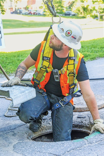 Don't Ignore Manhole Safety