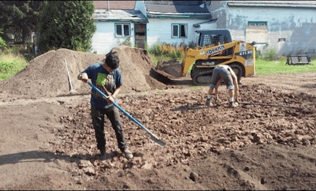 Stormwater Management Program Replaces City Blight With Absorbent Green Space