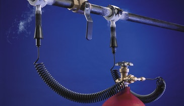 Pipe Freezing Kit Repairs Broken, Fully Pressurized Lines in Historic Landmark